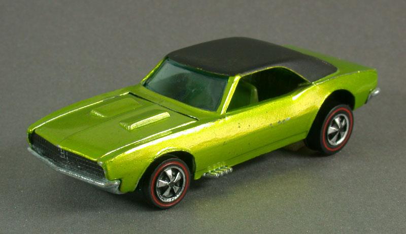 Hot Wheels 1968 Custom Camaro Redline Collector