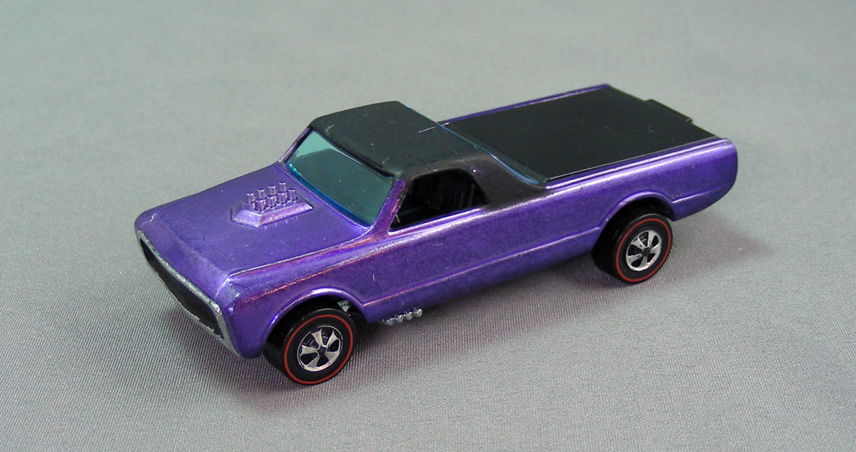 Hot Wheels 1968 Custom Fleetside Redline Collector