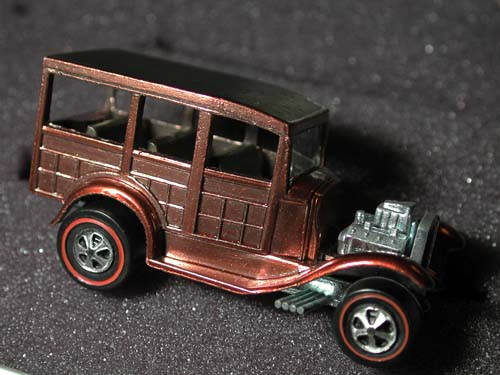 Hot Wheels 1969 Classic 31 Ford Woody Redline Collector